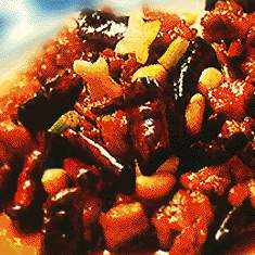 Beef with Peanuts Hot and Spicy Sauce