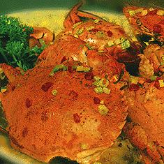 Stir-Fried Crabs